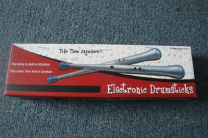 Electronic Drumsticks Music Drumsticks Toy Instrument Rock Beat Drumsticks Drum Brake