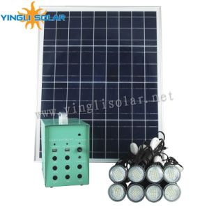 8PCS LED Lights Solar Kits with Solar Panel and Battery for Family Lighting pictures & photos