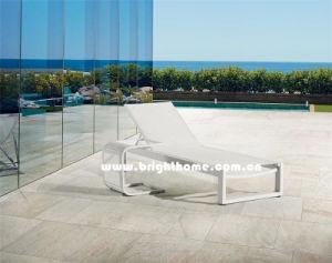 Outdoor Sun Lounger in Textilene pictures & photos