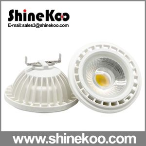 Aluminium 15W COB Gx15 GU10 LED COB Lamp pictures & photos