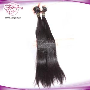 Virgin Hair Silky Straight 100% Remy Brazilian Human Hair Weaving pictures & photos