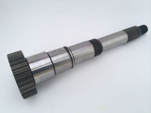 Precision Steel Transfer Case Input/Output Spline Gear Shaft pictures & photos