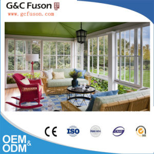 Horizontal Sliding Window Aluminium Frame Sliding Glass Window pictures & photos