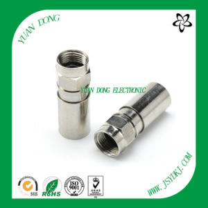 Coaxial Cable Connector Producer CATV Connector Compression Connector Manafacture pictures & photos
