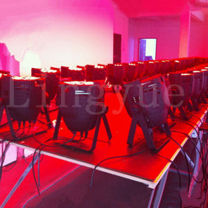 China DJ Stage 18X10W 4in1 RGBW Zoom LED PAR Light pictures & photos