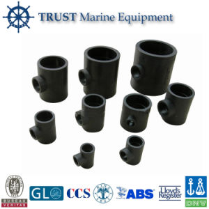 Stamless Carbon Steel Reducing Tee Joint Pipe Tube Pipe Fittings pictures & photos