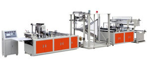 Newest Model Factory Supplier CE Certification Plastic CPP&Non-Woven Zipper Bag Making Machine