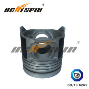 Isuzu 4he1t Forged Piston 8-97176-6520/8-97176-6530 with Alfin and with Oil Gallery pictures & photos