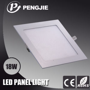 18W White LED Panel Light for Office with CE (Square) pictures & photos