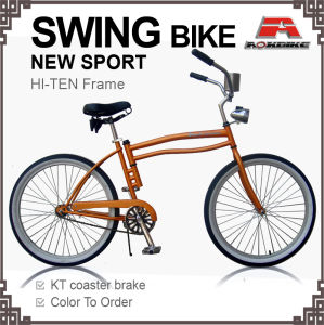 "Swing 26"" Coaster Brake Swing Beach Cruiser Bicycle (ARS-2650S) pictures & photos"