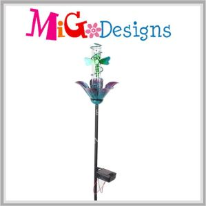 Metal Dragonfly Garden Stake W. Solar Light Decoration pictures & photos