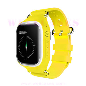 Lbs/GPS Double Positioning Micro SIM Pedometer Smart Watch for Kids pictures & photos