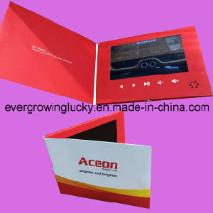 Factory Card 7inch LCD Screen Video Card for Advertisement pictures & photos