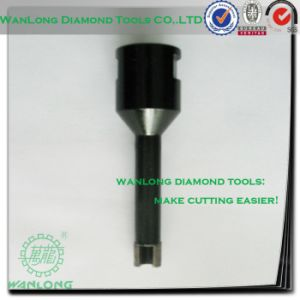 Diamond Tech Core Drill Bit Set for Stone Concrete and Ceramic Tile Drilling pictures & photos
