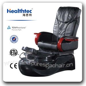 Black Leather Manicure Chair Nail Salon Furniture (A205-32) pictures & photos