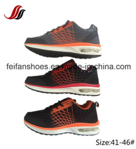 Breathable Sport Shoes Hiking Shoes with Air Cushion Footwear pictures & photos