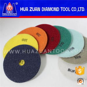 100mm Dry Polishing Pads Granite Polishing pictures & photos