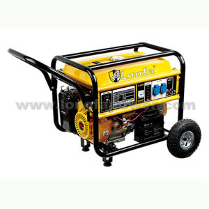 2.5kVA 2.0kVA Key Start Open Gasoline Generator with Wheels & Handle pictures & photos