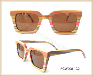 Man Women Real Wooden Eyeglasses Sunglasses pictures & photos