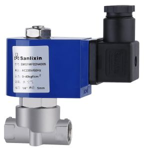 Stainless Steel Solenoid Valve (SMS1MF02N4B05) pictures & photos
