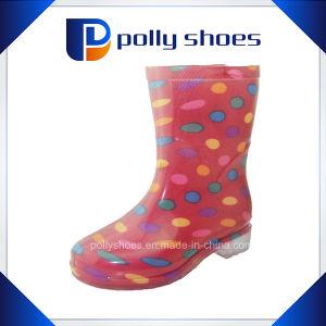 Long Rain Boots Neoprene Rain Boots Protective Rain Shoe pictures & photos