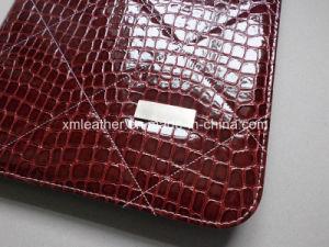 Red Leather Fashion Portfolio Organizer for Women pictures & photos