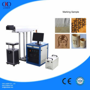 CO2 High Speed Laser Marking Machine for Leather Wood Electronic Components pictures & photos