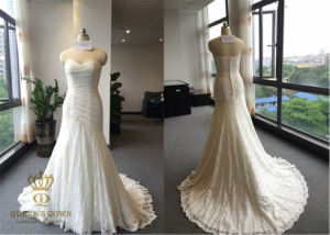 2016 The New Noble Bride Bra Lace Wedding Dress pictures & photos