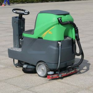 Marshell Three Wheel Electric Floor Washer (DQX6) pictures & photos
