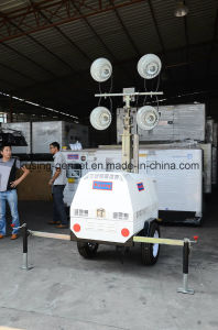 Mobile Light Tower Generator Set/Diesel Generator Set/Diesel Generating Set/Genset/Diesel Genset pictures & photos