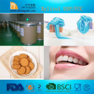 Food Additives L Xylitol for Chewing Gum/ Xylitol Toothpaste pictures & photos