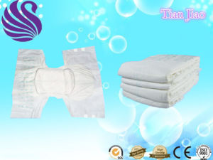 Quick Absorbtion and Dry High Quality Disposable Adult Diapers pictures & photos