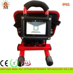10W LED Rechargeable Solar Flood Lights Waterproof IP68 pictures & photos