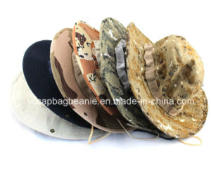 Fashion Camo Bucket Hat Fisherman Hat pictures & photos