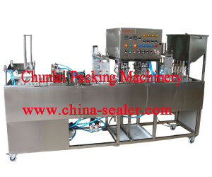 2015 Good Quality Cup Washing Filling Sealing Machine pictures & photos