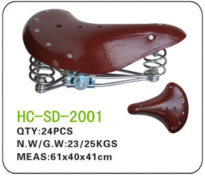 Bicycle Spare Parts Lady Bicycle Saddle (HC-SD-2001) pictures & photos