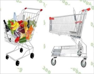 Most Fashionable Asian Style Supermarket Shopping Trolley/Cart pictures & photos