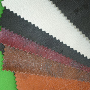 High Quality Hot Sale Elastic Smooth PVC Imitation Leather, PVC Synthetic Leather for Bag, Shoes, Sofa pictures & photos
