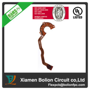 Double-Sided Flexible PCB with Pi Stiffener, 12-140um Copper Thickness pictures & photos
