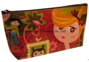 Printing PP Woven Nonwoven Cosmetic Promotion Bag pictures & photos