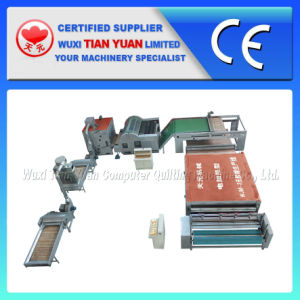 Nonwoven Polyester Fiber Wadding Making Machine pictures & photos