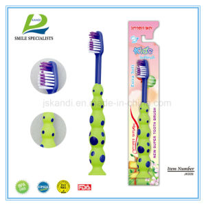 3 Color Ball Child Toothbrush pictures & photos