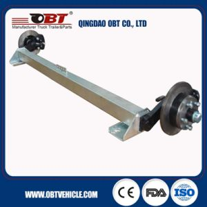 500 Kg Rubber Torsion Axle Without Brake pictures & photos