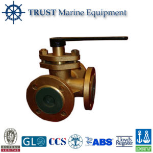 Marine Brass 3 Way Ball Valve pictures & photos