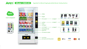 Coin Operated Bottled Water Vending Machine with LCD Player pictures & photos
