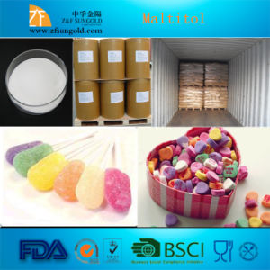 High Quality Low Calorie Sweetener Food Grade Maltitol Syrup/Liquid pictures & photos