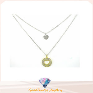 Good Sale and Wholesale Fashion Women 925 Silver Necklace Jewelry (N6539) pictures & photos