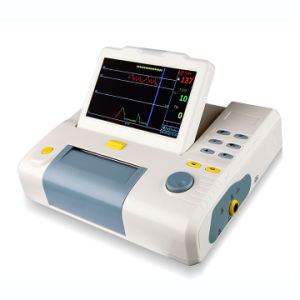 Medical Color Display Heart Fetal Monitor pictures & photos
