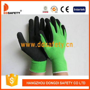 Ddsafety 2017 Green Nylon with Black Latex Glove pictures & photos