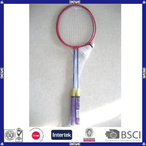 Hot Sell Cheap Low Price Steel Badminton Racket pictures & photos
